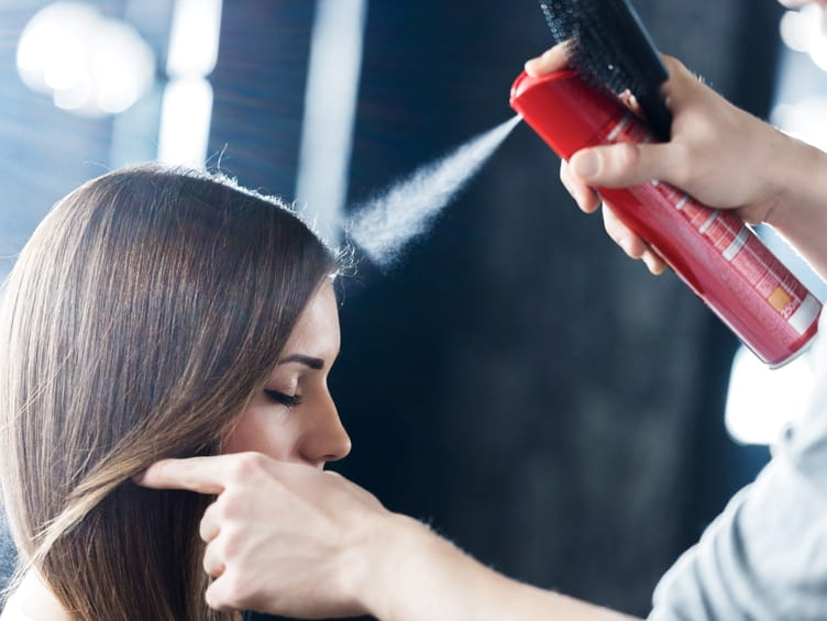 the safety of hairspray